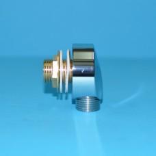 Штуцер шланга (переходник подключения) латунный PL1