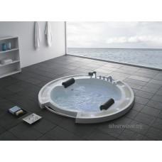 Гидромассажная ванна GEMY G 9060 K (2100х2100х800)