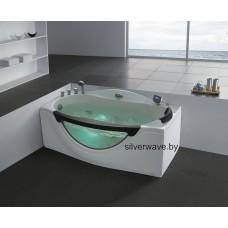 Гидромассажная ванна GEMY G 9072 K (1700х916х770)